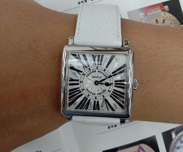 台中流當品拍賣 原裝 FRANCK MULLER 法蘭克穆勒 6002 石英 女錶 9成9新 喜歡價可議 ZR520